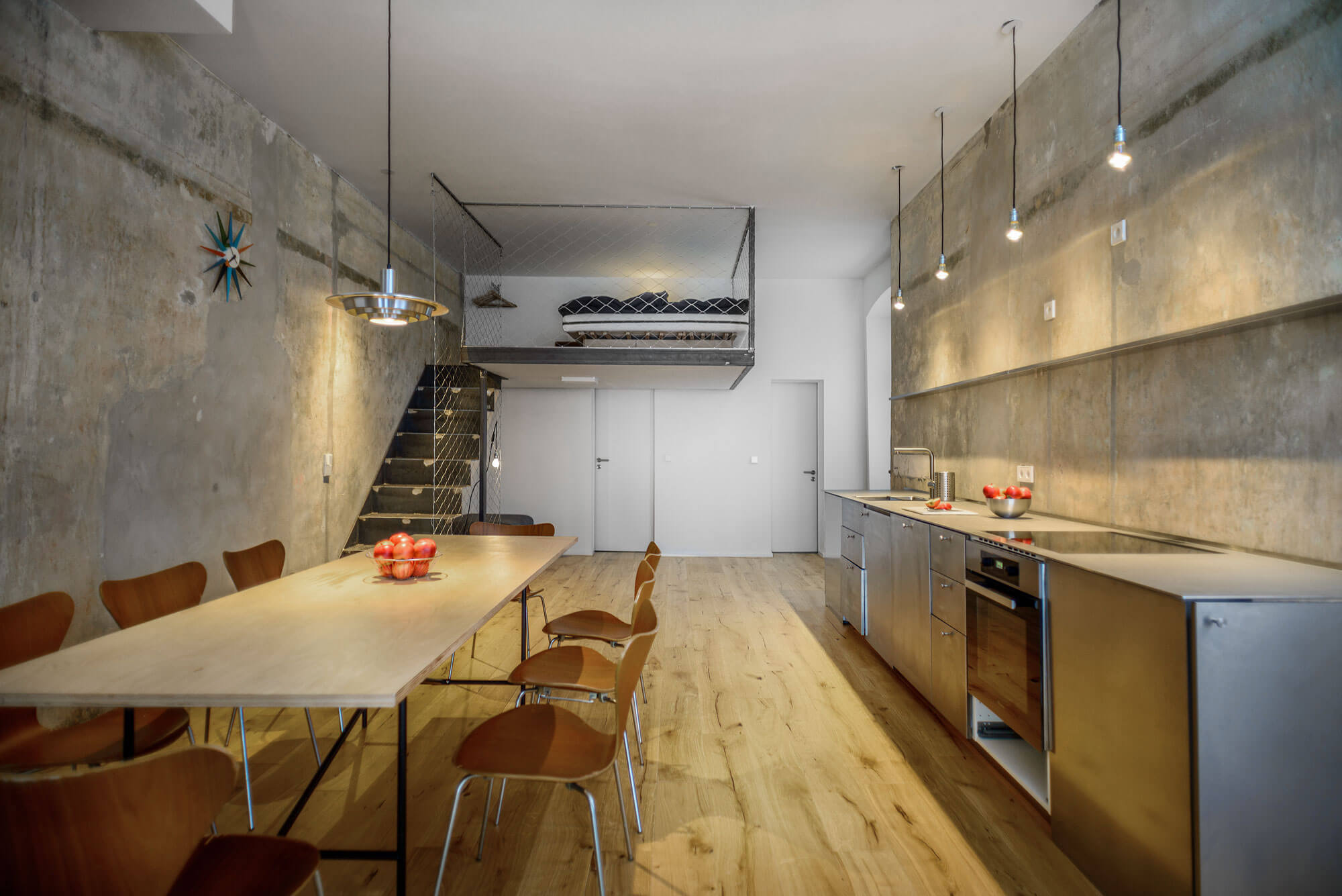 Berlin Industrial Apartment